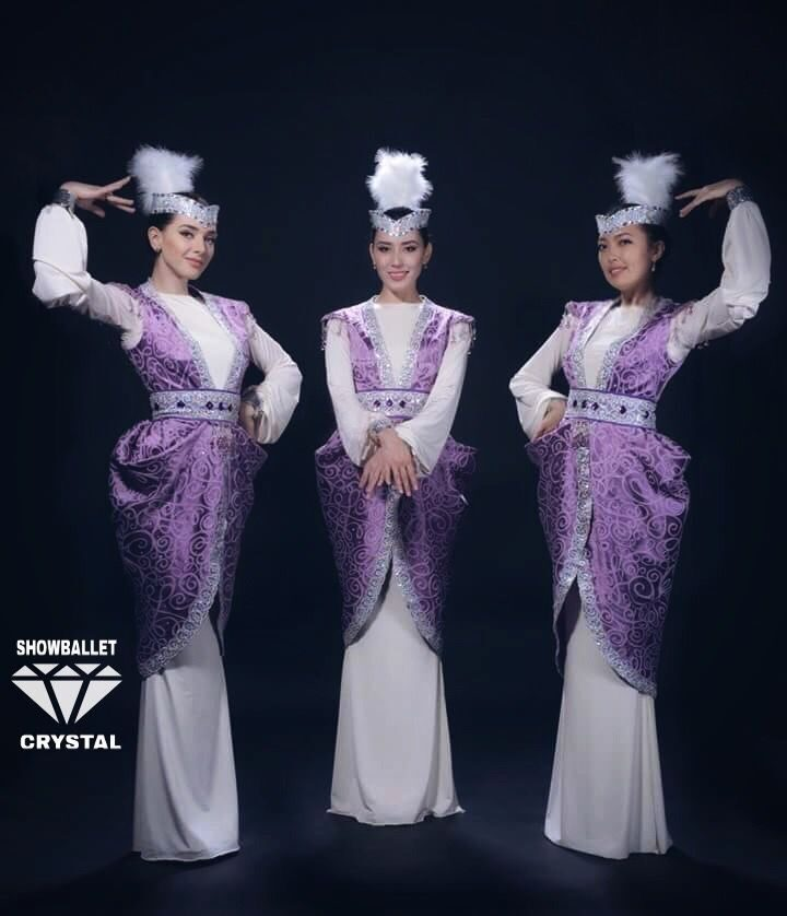 kazakh dance_purple